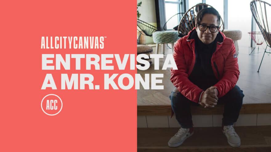 Mr Kone, artista invitado al Drone Graffiti Project