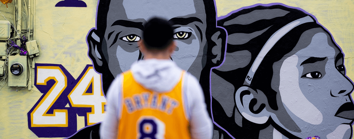Murales de Kobe Bryant aparecen en Los Ángeles