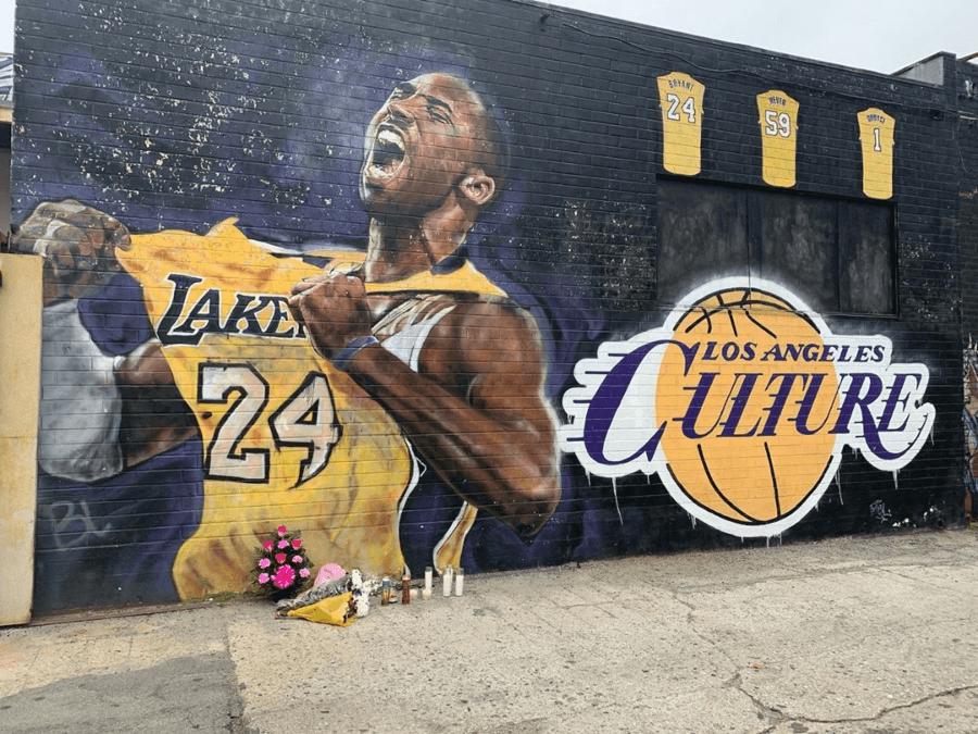 Murales de Kobe Bryant