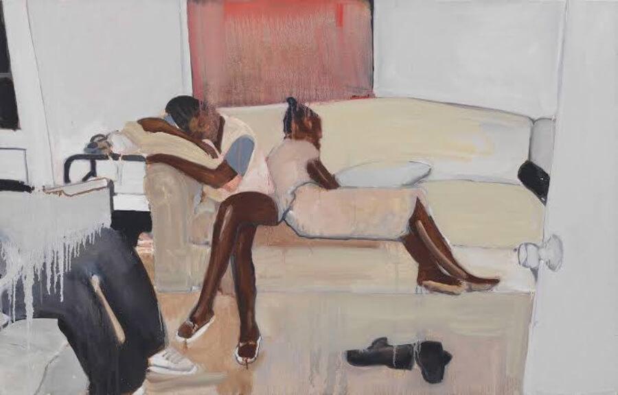 El artista representó la vida afroamericana