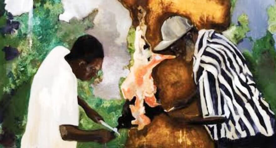 Noah Davis, la historia afroamericana hecha arte