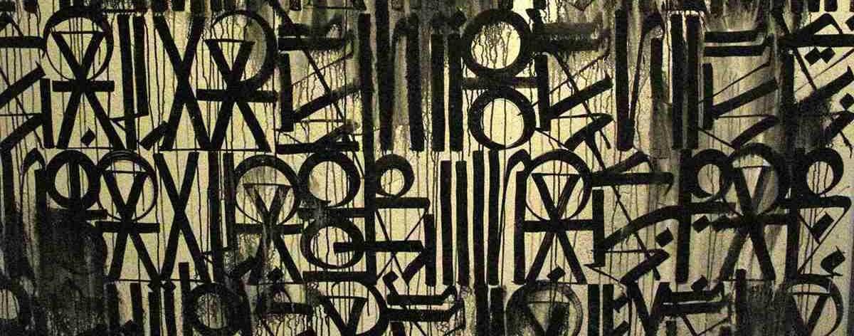 Obras de Retna que mezclan las bellas artes con street art