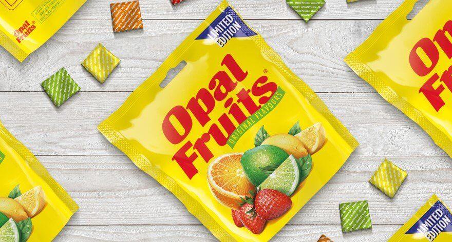 Opal Fruits, los populares caramelos que están de regreso