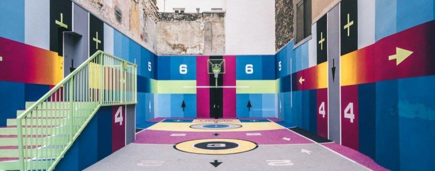 Nike, Pigalle e Ill Studio intervienen de nuevo cancha en París