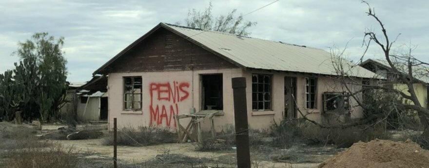 Posible arresto de Penis Man en Tempe, Arizona
