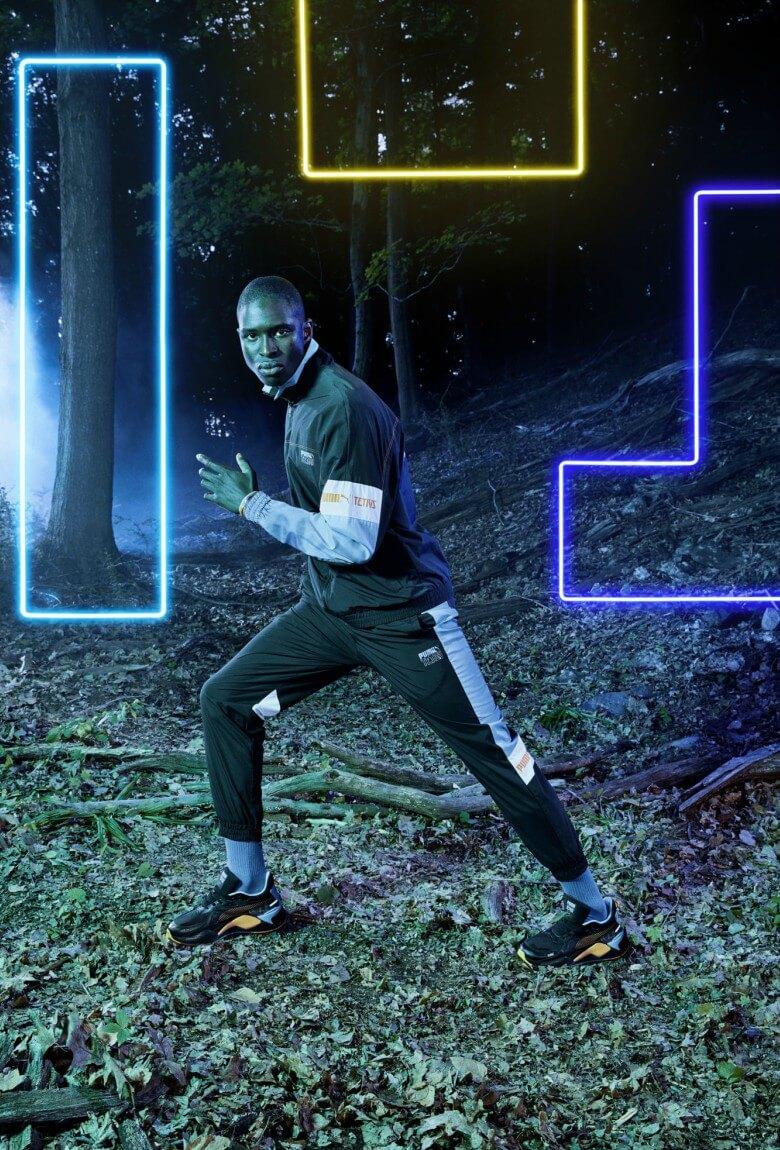 Puma rinde homenaje al videojuego Tetris