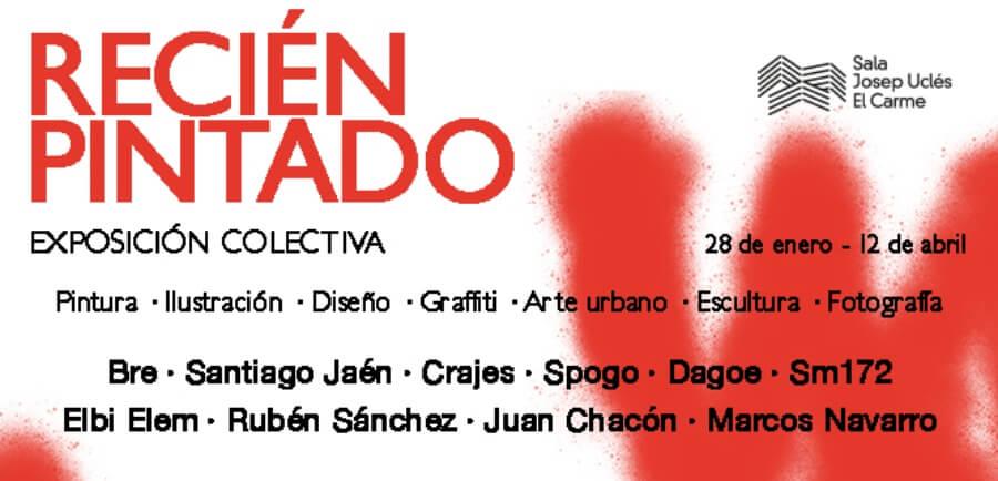 La exposición muestra la obra de 10 artistas