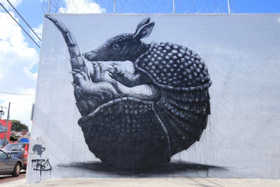 ROA el artista de la fauna.la vida y la muerte