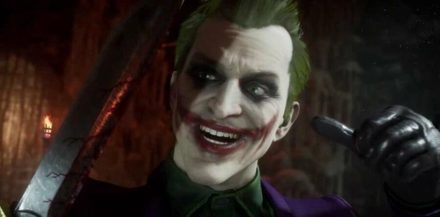 The Joker arrives