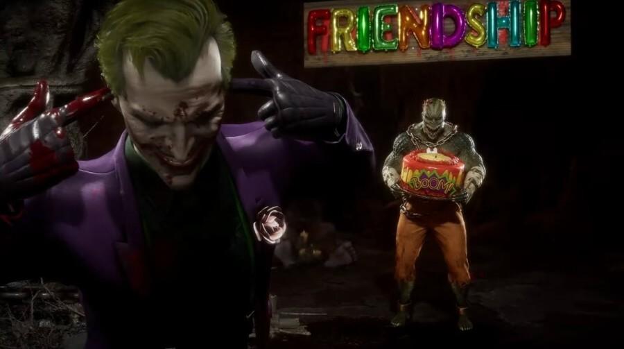 The Joker llega