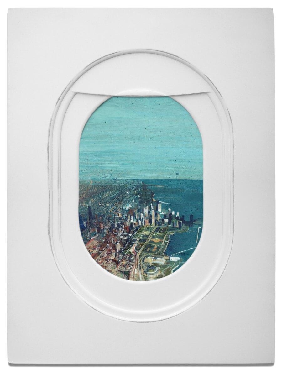 """""""Windows"""" representa los paisajes que podemos encontrar del otro lado de la ventanilla"""
