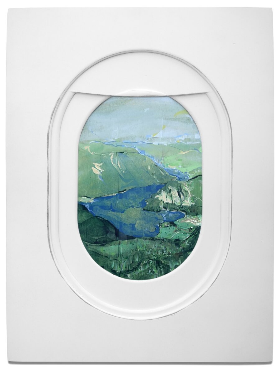 "Tim Darling presenta paisajes en la serie ""Windows"""