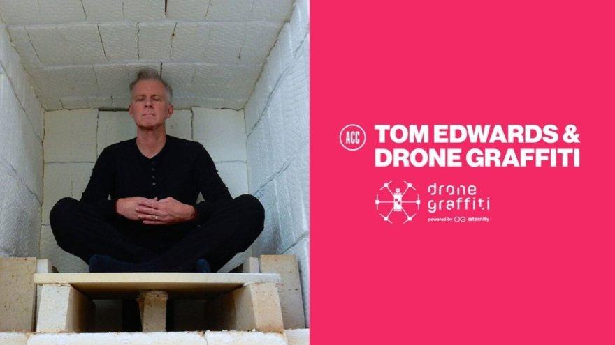 Tom Edwards, artista invitado al Drone Graffiti Project