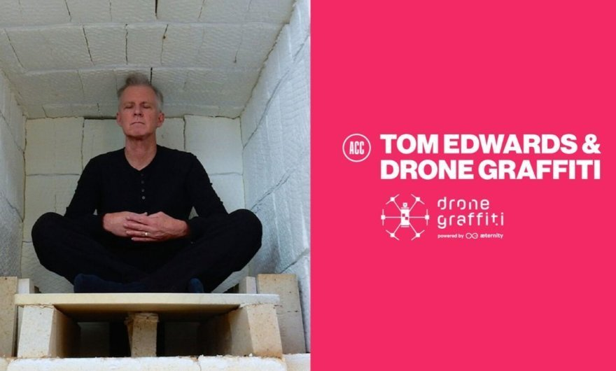 Tom Edwards, artista invitado al Drone Graffiti Project