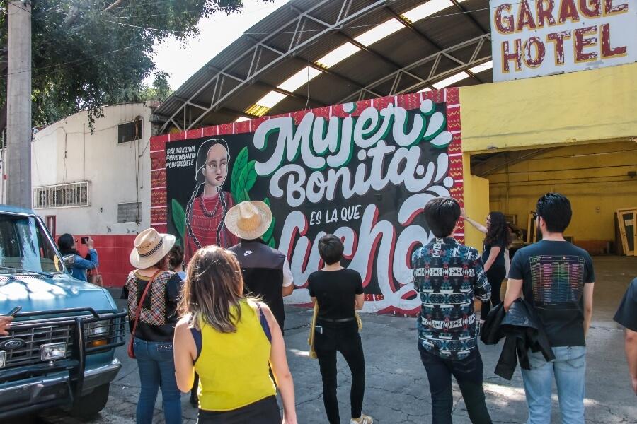 EN LOS RECORRIDOS CONOCERÁS LO MEJOR DEL ARTE URBANO