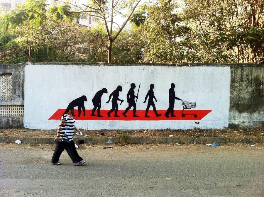 Tyler Street Art y el esténcil como protesta social