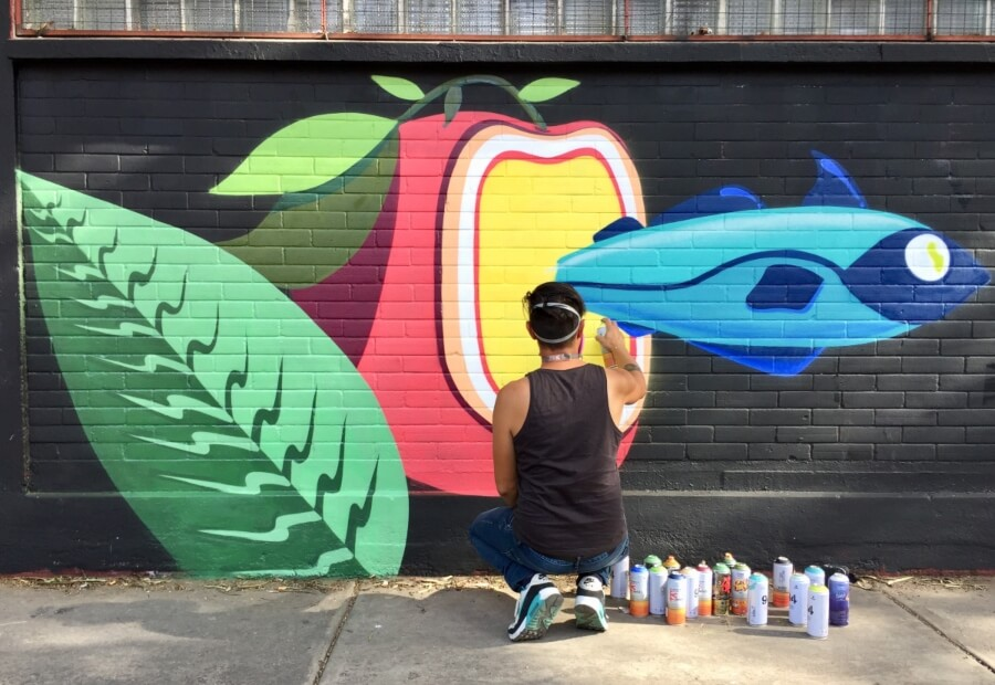Muro de Erick Sandoval