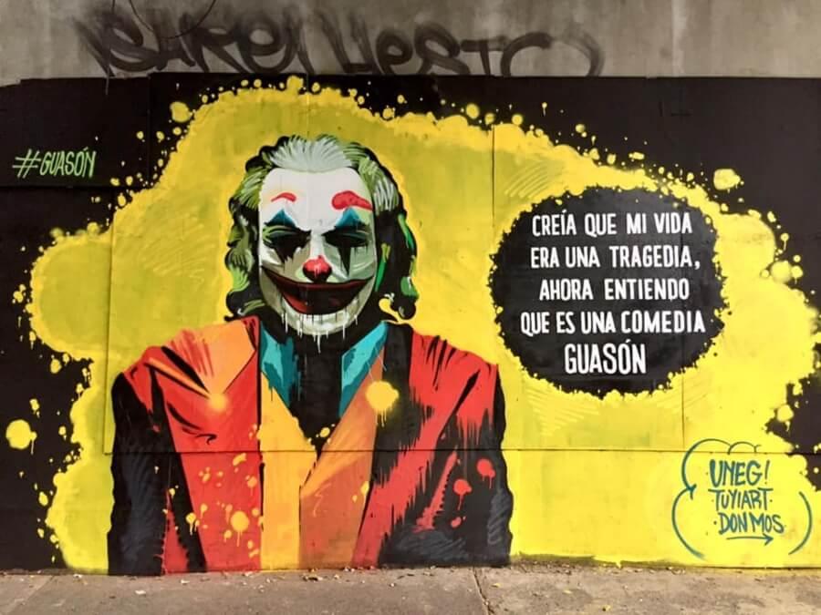 Muro Joker Erick Sandoval