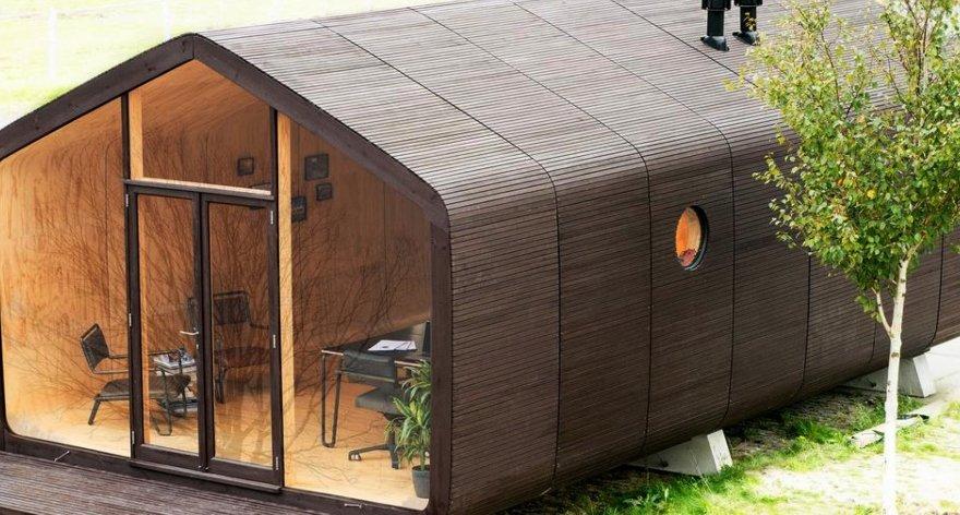 Wikkelhouse, la casa de cartón ecológica y reciclable