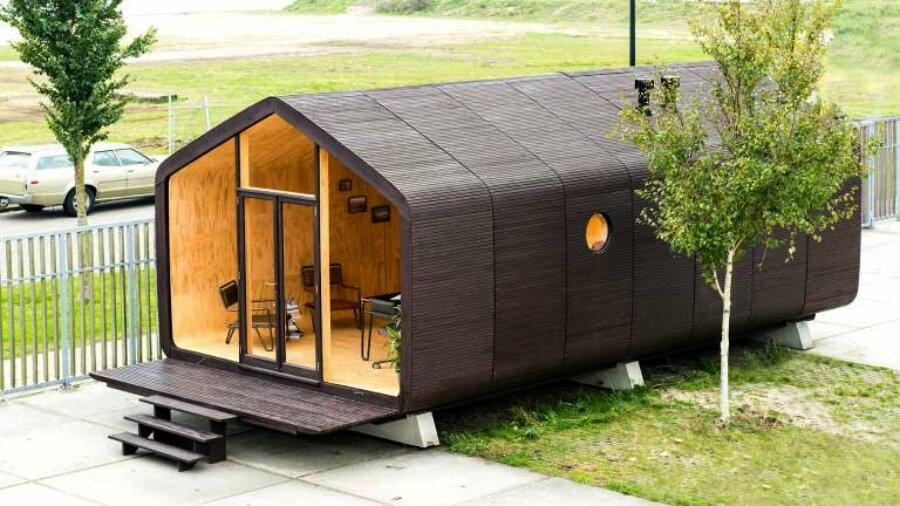 Wikkelhouse, la casa amigable con el ambiente