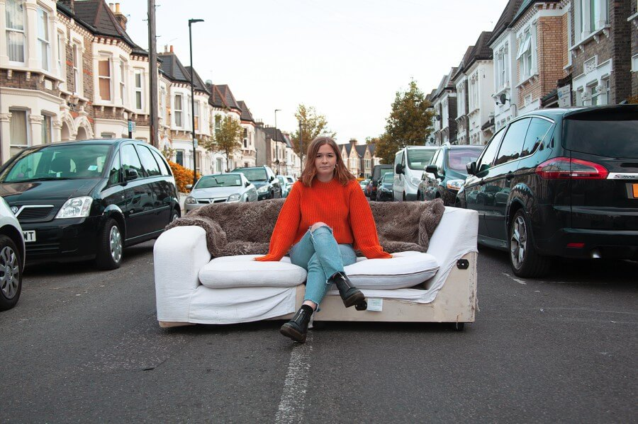 Women on Sofas