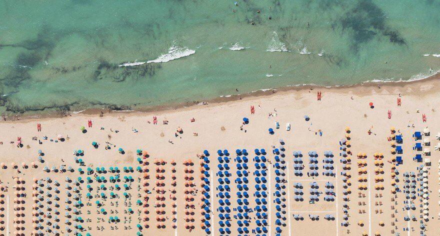 Bernhard Lang: una década de fotografías aéreas