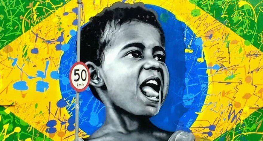 Bliss Walls, conciencia con murales en Sao Paulo