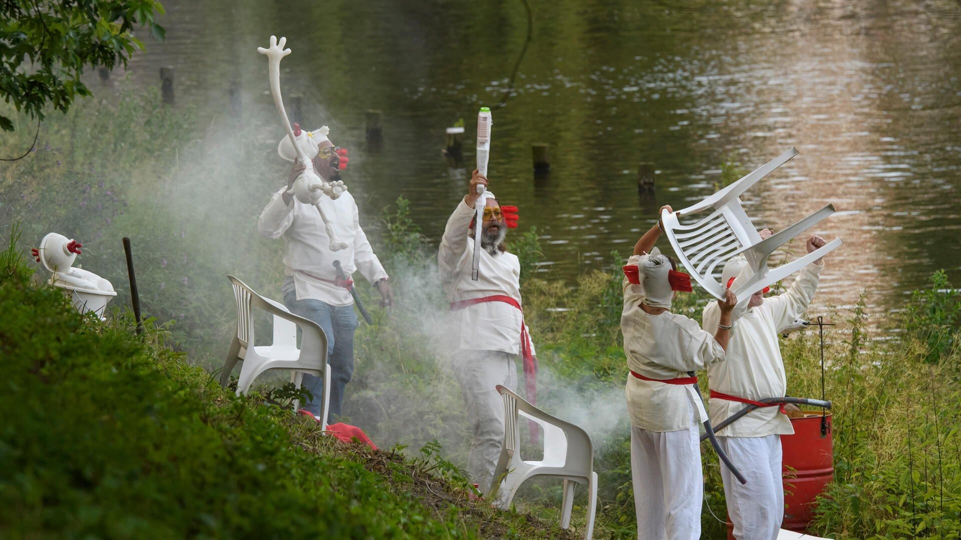 obra de El Bosco en el Bosch Parade