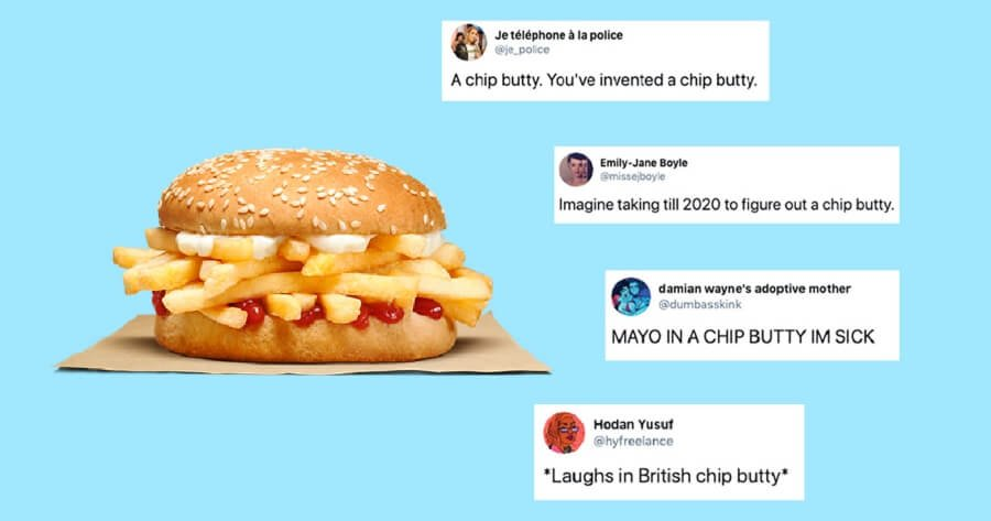 Burger King presentó hamburguesa de papas