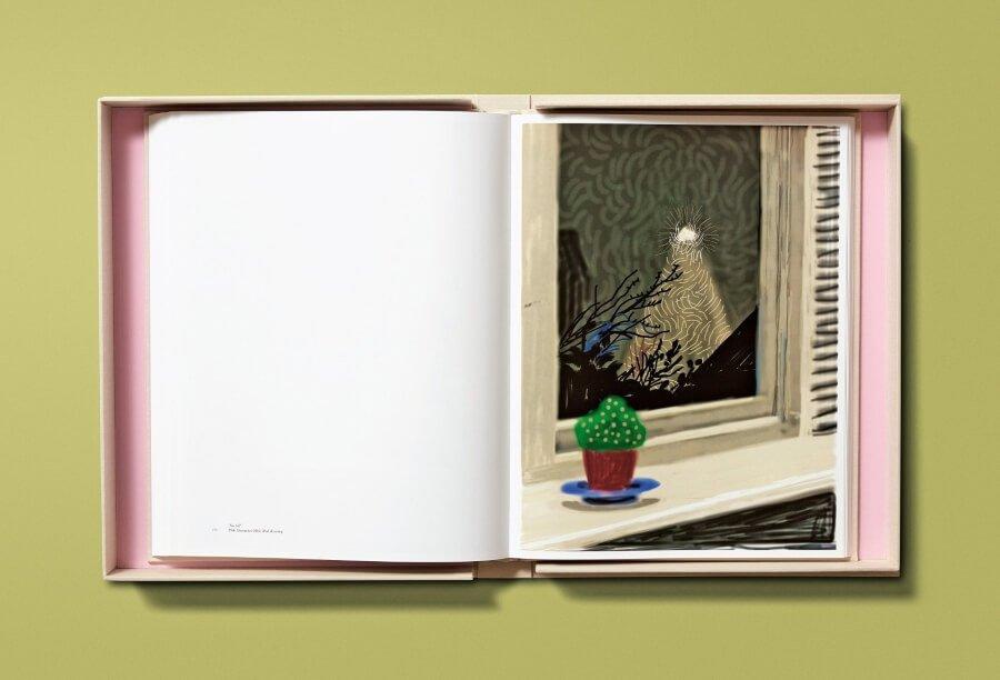 El artista presentó libro de dibujos