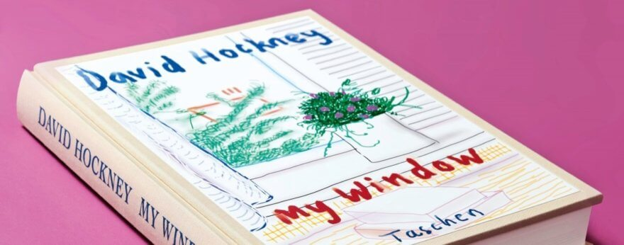 David Hockney's book of drawings made with iPad and iPhone