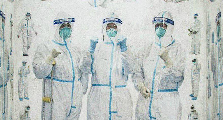 Duyi Han rinde homenaje a médicos en Hubei