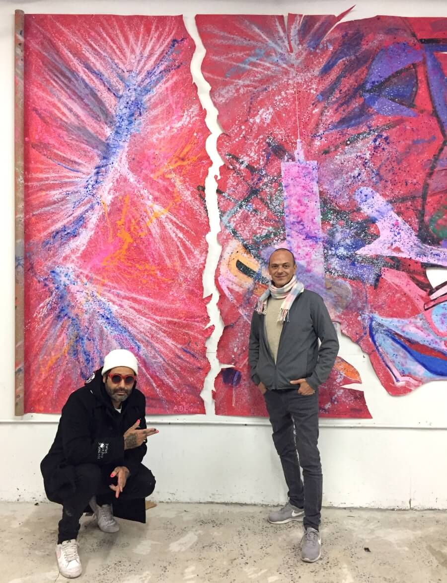 Tres artistas plásticos conforman la exposición