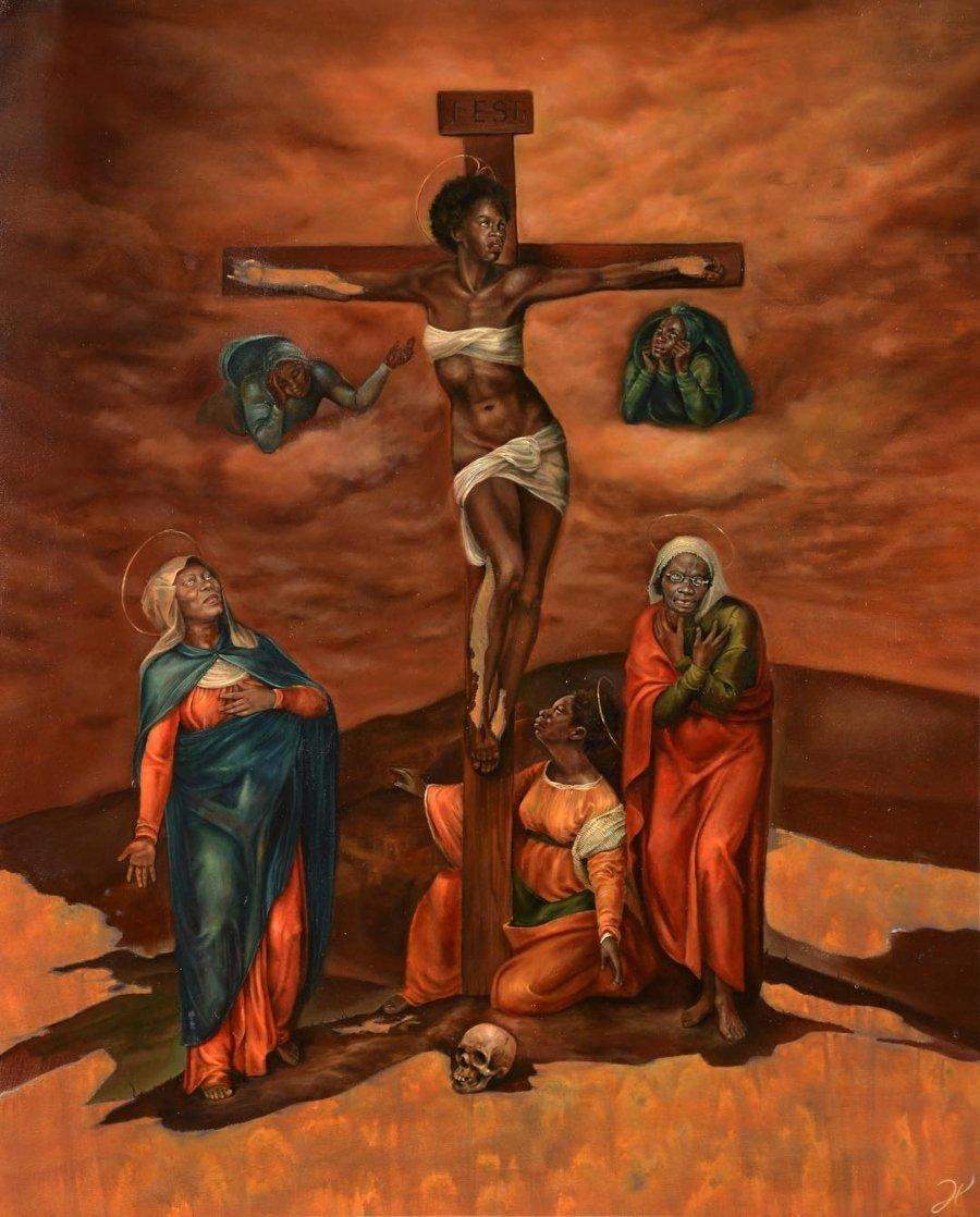 Harmonia Rosales y sus mujeres negras