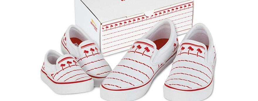 In-N-Out Burger lanza sus propios sneakers