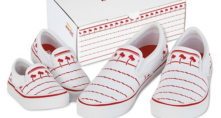 In-N-Out Burger releases its own sneakers