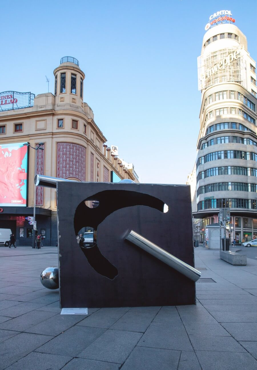 Urvanity Art installations take the streets of Madrid