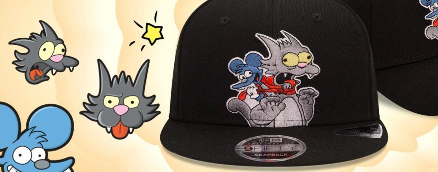 Itchy y Scratchy tienen sus propias gorras