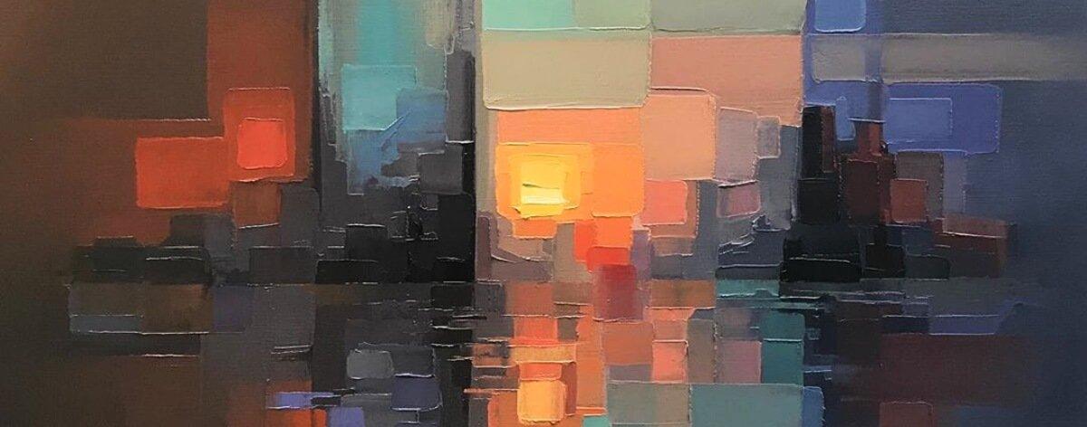 Jason Anderson y sus paisajes urbanos pixeleados
