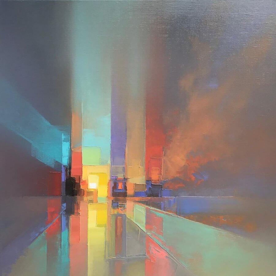 Jason Anderson y sus paisajes pixeleados
