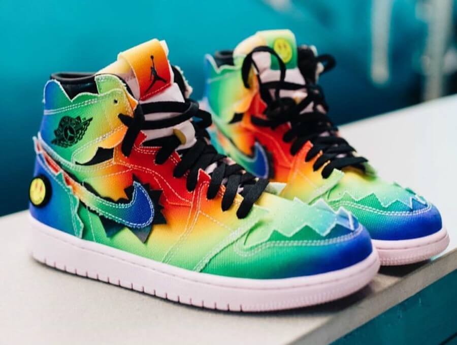 J Balvin's Jordans