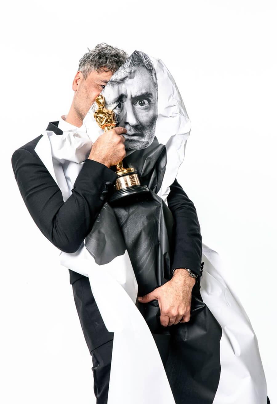JR fotografió a celebridades en los Oscar