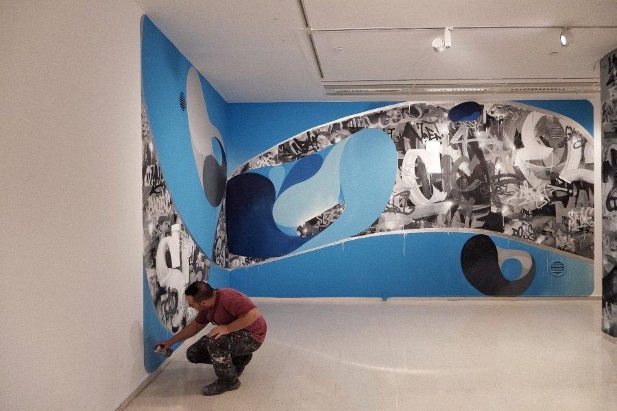Los dos artistas finalizaron su participación en Recién Pintado