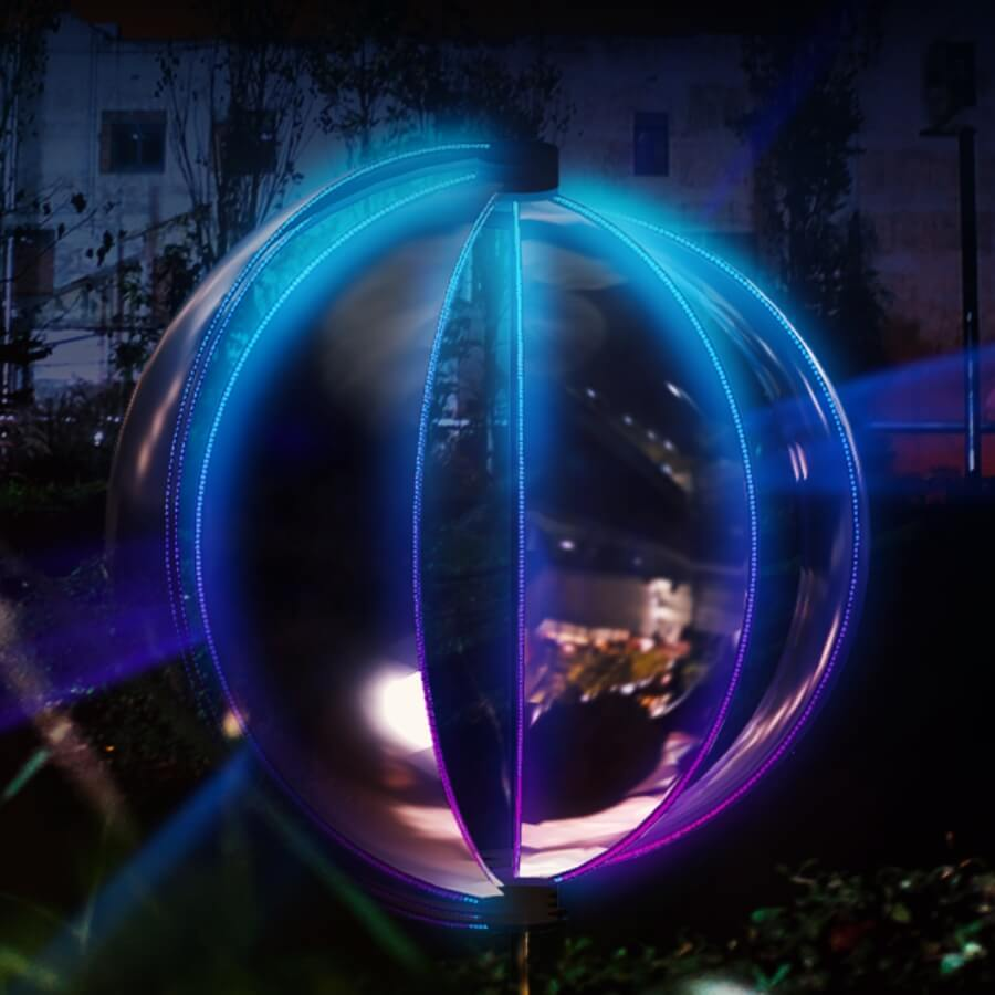Llum BCN 2020 llega con muchas instalaciones de luz a Barcelona