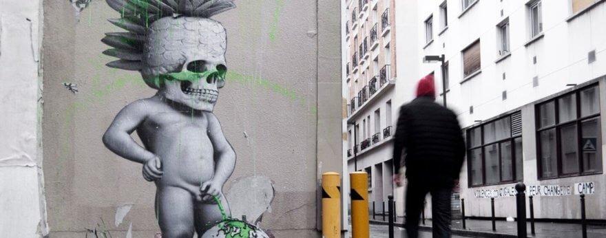 Ludo llega a las calles de París con piezas de street art