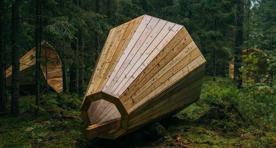 Mega audífonos para escuchar el sonido de los bosques