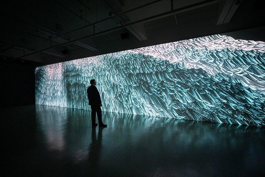 Miguel Chevalier convierte la música en arte digital