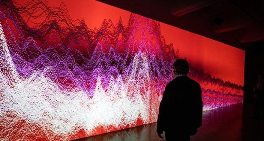 Miguel Chevelier transforma la música en arte digital