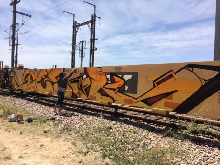 Desik: illegal graffiti