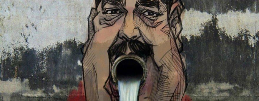 Mural de Nicolás Maduro es fake, pero muy divertido